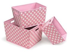 Cute storage basket set, one of our favorites!