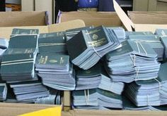 A lot of passports