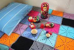 Resultado de imagen de patchwork con crochet