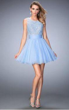 Beautiful Short Blue Tailor Made Cocktail Prom Dress (LFNCE0052)