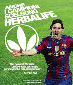 Anche #LeoMessi sceglie #Herbalife https://www.facebook.com/informaconandrea #campioni