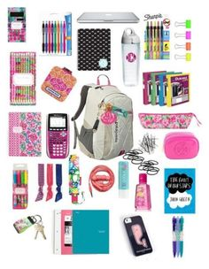 """""""What U should keep In Ur Backpack"""" by roxanner ❤ liked on Polyvore featuring women's clothing, women, female, woman, misses and juniors"""