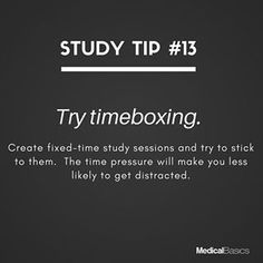 How to stick to your study-time schedule? Study Motivation Quotes, Study Quotes, Student Motivation, Study Techniques, Study Methods, Effective Study Tips, School Study Tips, Exam Study, Study Help