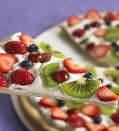 Recipe For Spring Fruit Pizza