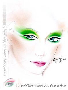 紙妝設計/綠 (進階中級課程)