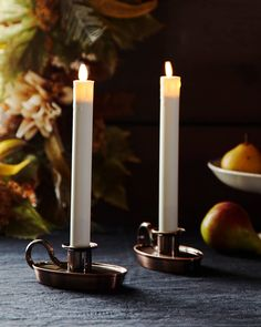 Our Miracle Flame candles give you the natural beauty of candlelight at the touch of a button. Designed with a sensor that detects ambient light, these window candles turn on as evening sets in and automatically switch off at sunrise. Halloween Decorations, Christmas Decorations, Window Candles, Balsam Hill, Halloween Season, Candle Set, Battery Operated, Crate And Barrel
