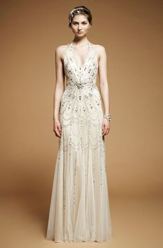 Art Deco Gowns || Jenny Packham 2012 || Art Deco Weddings