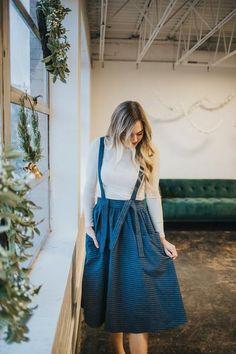 6aa4190732f The Piper Suspender Skirt. Dress Barn DressesFall ...