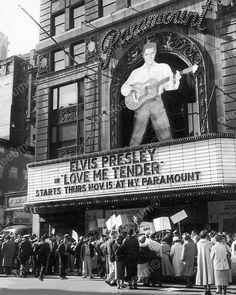 Elvis Presley Theater 1956 Vintage 8x10 Reprint of Old Photo | eBay
