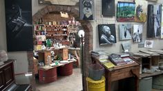 A shop filled with all sorts of things. Free State, Sorting, Liquor Cabinet, Orange, Shop, Furniture, Home Decor, Decoration Home, Room Decor