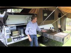 Join your host Bruce Loxton and discover a Kimberley Offroad Camper Trailer equipped with the latest in camping equipment. This trailer includes air suspensi...