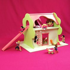 Handmade Wooden TreeHouse ($120.00), Once Upon A TreeHouse Eco-Friendly Dollhouse Toys
