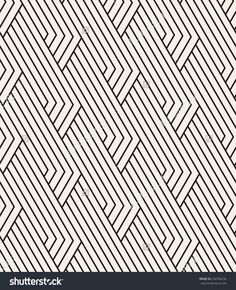 Vector seamless pattern. Modern linear texture. Repeating geometric background. Striped linear grid. Contemporary graphic design. Regular rhythmic print. Geometric Pattern Design, Linear Pattern, Graphic Patterns, Surface Pattern Design, Geometric Designs, Stripes Design, Vector Pattern, Pattern Art, Stripe Pattern
