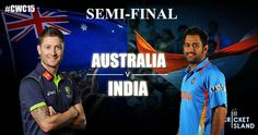 CWC15 Semi final Preview India vs Australia cricket world cup 2015
