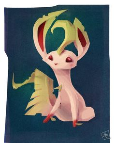 Awesome Artsy Eeveelutions: Leafeon