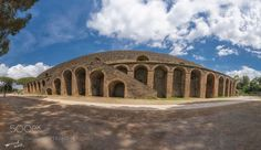 Popular on 500px : Amphitheatre of Pompeii by michailchristodoulopoulos