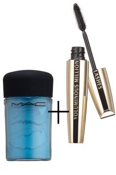 Black and brown seem so boring once you know how to create any shade of mascara. After applying