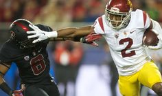 The Heisman case for Adoree' Jackson of USC = USC jack-of-all-trades Adoree' Jackson's Heisman candidacy became a thing shortly after the 2014 Holiday Bowl. In the Trojans' defeat of Nebraska, the lightning bug from Belleville, Illinois, scored touchdowns of.....