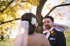 Fall Wedding - Minnesota Barn Wedding - Gale Woods Farm- debruynphotography.com