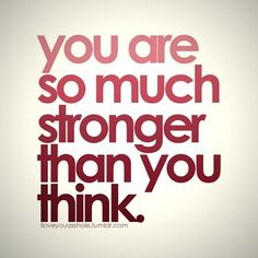 ░ You Are So Much Stronger Than You Think ░