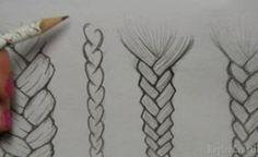 disegnare capelli - Cerca con Google