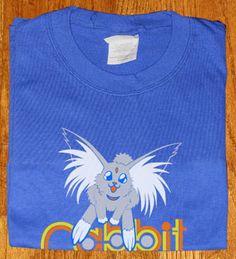 Tenchi Muyo blu Shirt Carrot lover Ryo-Ohki Cabbit T-shirt tee Tshirt