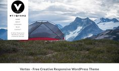 Vertex Best free WordPress Theme November 2016