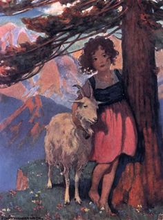 Heidi by Jessie Willcox Smith