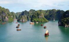 Ha long Bay. Vietnam