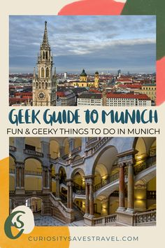 Are you looking for off the beaten path and unusual things to do in Munich, Germany to satisfy your inner nerd? Here's a local's guide to Munich and 22 geeky things to do that range from museums to clubs, and so much more! I where to go in Munich I Germany travel I places to go in Munich I Munich guide I museums in Munich I what to do in Munich I things to do in Germany I Germany off the beaten path I what to do in Germany I places in Munich I Munich off the beaten path I #Munich #Germany Travel Guides, Travel Tips, Travel Destinations, Stuff To Do, Things To Do, Munich Germany, Road Trip Hacks, European Destination, Unusual Things