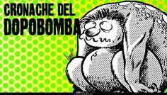 CRONACHE DEL DOPOBOMBA LO SCENARIO È QUELLO DEL FALLOUT NUCLEARE, IL MONDO È ABITATO DA MUTANTI CHE LOTTANO SPIETATAMENTE PER LA SEMPLICE SOPRAVVIVENZA.  Apparse nel 1973 in «Undercomix» n. 0 vengono subito considerate troppo dure dagli editori italiani tanto che la prima pubblicazione continuativa avviene in Francia l'anno successivo. Bonvi continua a lavorarci fino al 1993; le 74 storie vengono in parte raccolte in Cronache del dopobomba, (1991) e Nuove cronache del dopobomba (1992)…