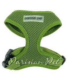 Parisian Pet Mesh Harness Green @ Pupaholic.com