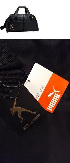 341e0f2bfe Gym Bags 68816  New Puma Usain Bolt Black Performance Sports Gym Duffel Bag  Limited Edition