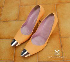 DIY:  Metal Tipped Shoes