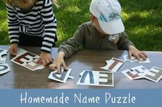 Fun ways to learn to read your name | BabyCentre Blog