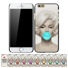 Marilyn Monroe Bubble Gum Hard Case Cover Case for Apple iPhone 6 (4.7