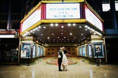 Angie + Tom's Old Hollywood Affair (courtesy of Tinywater Photography) #real #wedding