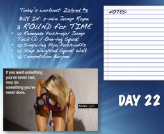 Day # 22 in our workout challenge! What was your time? Have you seen any improvements since Day 1? #Workout #Challenge #Progress #Fitness #Health #newyear #ZGYM