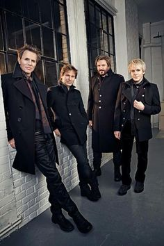 Duran Duran looking dapper