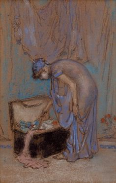 """The Violet Note"" James McNeill Whistler 1885-1886-Isabella Stewart Gardner Museum. A special favorite"