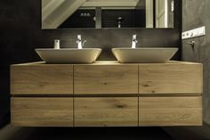 Resultado de imagen de houten badkamermeubel ikea