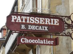 Patisserie Decaix Dordogne France