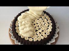 Bu lezzete bayılacaksınız🤩 muzlu kremalı tart kek-Tart kek tarifi - YouTube Tiramisu, Food And Drink, Make It Yourself, Cake, Ethnic Recipes, Desserts, Yogurt, Youtube, Pies