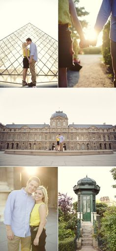 Paris engagement // sarah kate photography