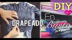 como confeccionar patrones de blusas de fiesta de gala - YouTube