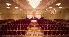 Dignified, formal and patriotic, the Presidential Ballroom within Capitol #Hilton is the perfect venue for a productive meeting or gala.