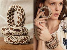 Crochetemoda: Trabalhos em Crochet - Vogue