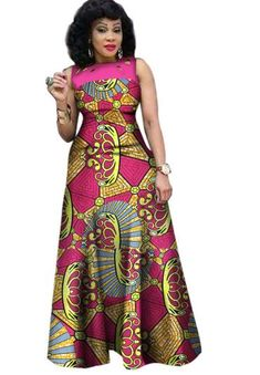 African Dresses for Women, African Print Clothing, Ankara Long Dress Plus Size - Owame African Print Clothing, African Print Dresses, African Print Fashion, Africa Fashion, Latest African Fashion Dresses, African Dresses For Women, African Attire, African Wear, Afrocentric Clothing