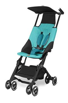 With a comfortable reclining seat, the option to use it as a travel system and the benefit of a self-standing fold, the Pockit is an urban travel genius. New GB Pockit Compact Lightweight Two-Step Fold Travel Stroller Laguna Blue. Umbrella Stroller, Pram Stroller, Baby Strollers, Toddler Stroller, Jogging Stroller, Cheap Strollers, Single Stroller, Travel Stroller, Capri Blue