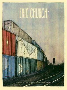 Concer posters... Eric Church